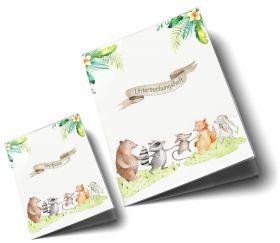U-Heft Hülle SET Tierfreunde