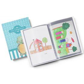 Sammelmappe Meine Kindergartenzeit niedliche Schildkröte Geschenkidee Kindergeburtstag (10/20 Hüllen A4)