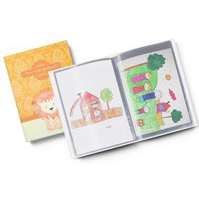 Sammelmappe Meine Kindergartenzeit Löwe Jungen Geschenkidee Kindergeburtstag (10/20 Hüllen A4)