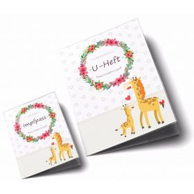 U-Heft & Impfpass Hüllen SET Mommy Love Daisy