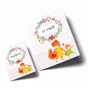 U-Heft Hülle SET Mommy Love Butterfly