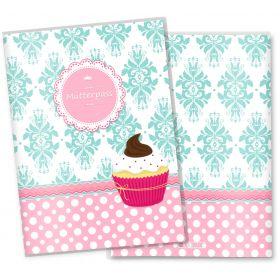 Mutterpasshülle 3-teilig Cupcakes (Motiv: Fancy, ohne Personalisierung)