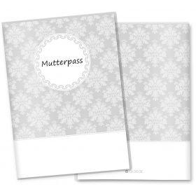 Mutterpasshülle 3-teilig Motiv Black & White (ohne Motiv ohne Personalisierung)