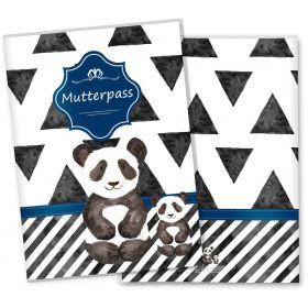 Mutterpasshülle 3-teilig Creative Royal (Panda, ohne Personalisierung)
