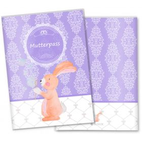 Mutterpasshülle / Mutter-Kind-Pass Hülle 3-teilig Motiv Seifenblasen