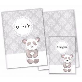 U-Heft Hülle SET Black&White (Panda)