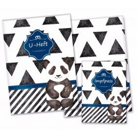 U-Heft Hülle SET Creative Royal (Panda)