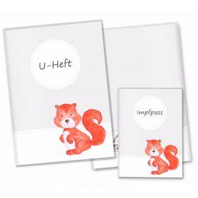 U-Heft Hülle SET Waldtiere (Eichhörnchen)