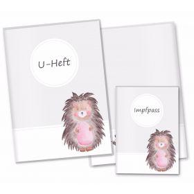 U-Heft Hülle SET Waldtiere (Igel)