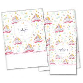 U-Heft Hülle SET Unicorn Dreams (I Believe in Myself, ohne Personalisierung)