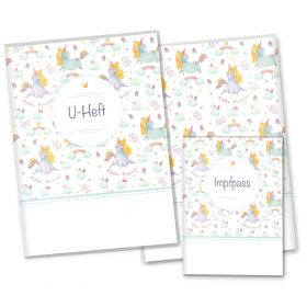 U-Heft Hülle SET Unicorn Dreams (Little Princess, ohne Personalisierung)
