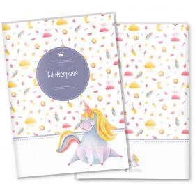 Mutterpasshülle 3-teilig Unicorn Dreams (Sweet Dreams, ohne Personalisierung)