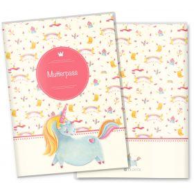 Mutterpasshülle 3-teilig Unicorn Dreams (Magical World, ohne Personalisierung)