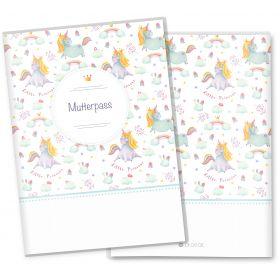 Mutterpasshülle 3-teilig Unicorn Dreams (Little Princess, ohne Personalisierung)