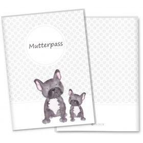Mutterpasshülle 3-teilig Haustiere (Hund)