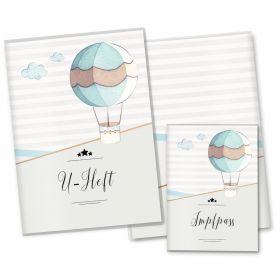U-Heft Hülle SET Transport (Heißluftballon, ohne Personalisierung)
