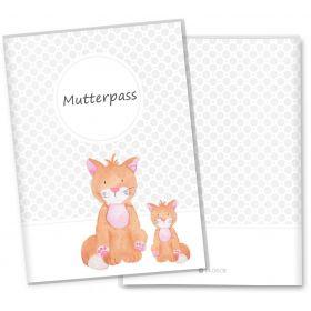 Mutterpasshülle 3-teilig Haustiere (Katze)