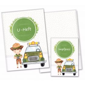 U-Heft Hülle SET Safari Tour (Auto, ohne Personalisierung)