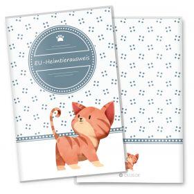 Heimtierausweis Schutzhülle Lovely Kittens (Tiger, ohne Personalisierung)