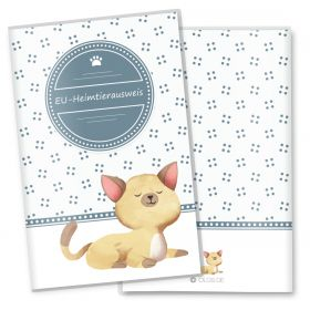 Heimtierausweis Schutzhülle Lovely Kittens (Lucy, ohne Personalisierung)