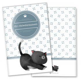 Heimtierausweis Schutzhülle Lovely Kittens (Blacky, ohne Personalisierung)