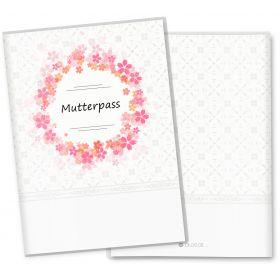 Mutterpasshülle 3-teilig Blumenkranz (Gänseblümchen, ohne Personalisierung)