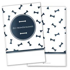EU-Heimtierausweis Schutzhülle Bone (ohne Motiv, ohne Personalisierung)