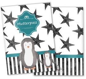 Mutterpasshülle / Mutter-Kind-Pass Hülle 3-teilig Creative Royal