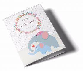 Mutterpasshülle / Mutter-Kind-Pass Hülle 3-teilig Mommy Love Dots