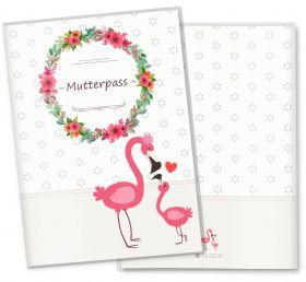 Mutterpasshülle / Mutter-Kind-Pass Hülle 3-teilig Mommy Love Daisy