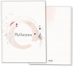 Mutterpasshülle / Mutter-Kind-Pass Hülle 3-teilig Amazing Aquarell