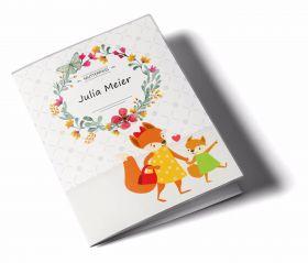Mutterpasshülle / Mutter-Kind-Pass Hülle 3-teilig Mommy Love Butterfly