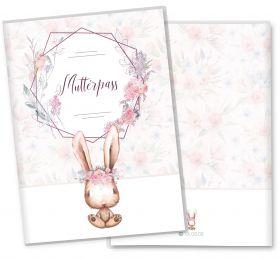 Mutterpasshülle / Mutter-Kind-Pass Hülle 3-teilig Cute Bunny Hase