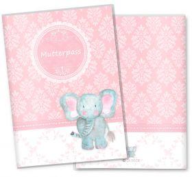 Mutterpasshülle / Mutter-Kind-Pass Hülle 3-teilig rosa Little Lady