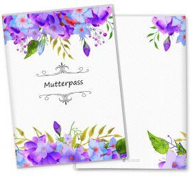 Mutterpasshülle / Mutter-Kind-Pass Hülle 3-teilig Florentina