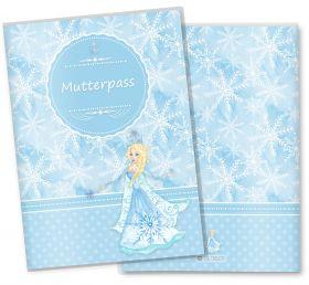 Mutterpasshülle / Mutter-Kind-Pass Hülle 3-teilig die Eiskönigin